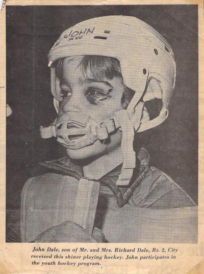 John Dale Youth Hockey Photo 1973