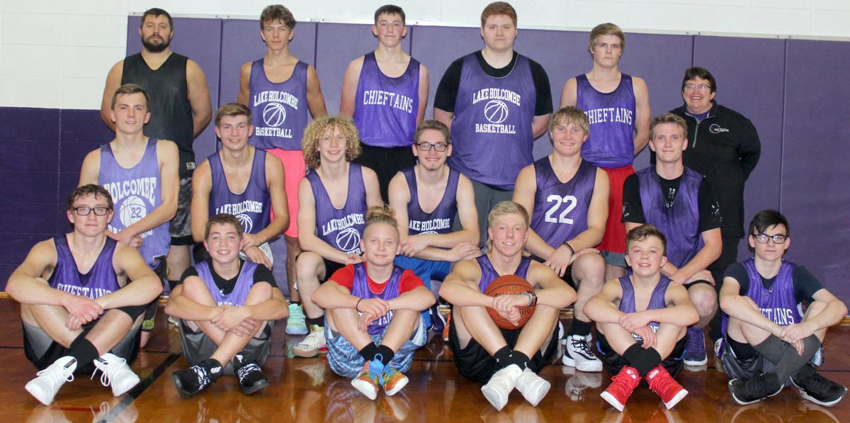 2019-20 Lake Holcombe Boys Basketball Team