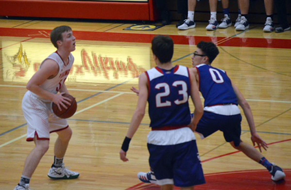 Glenwood City at Colfax boys basketball 2-1-19