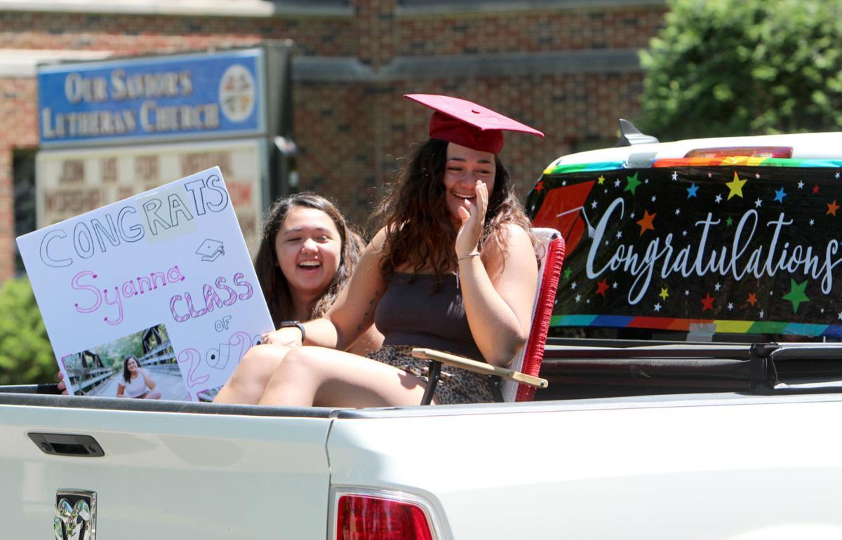 Menomonie High School Graduation Parade 5-31-20