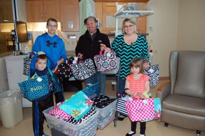 Family gives gift bags to families at Mayo Clinic | Community