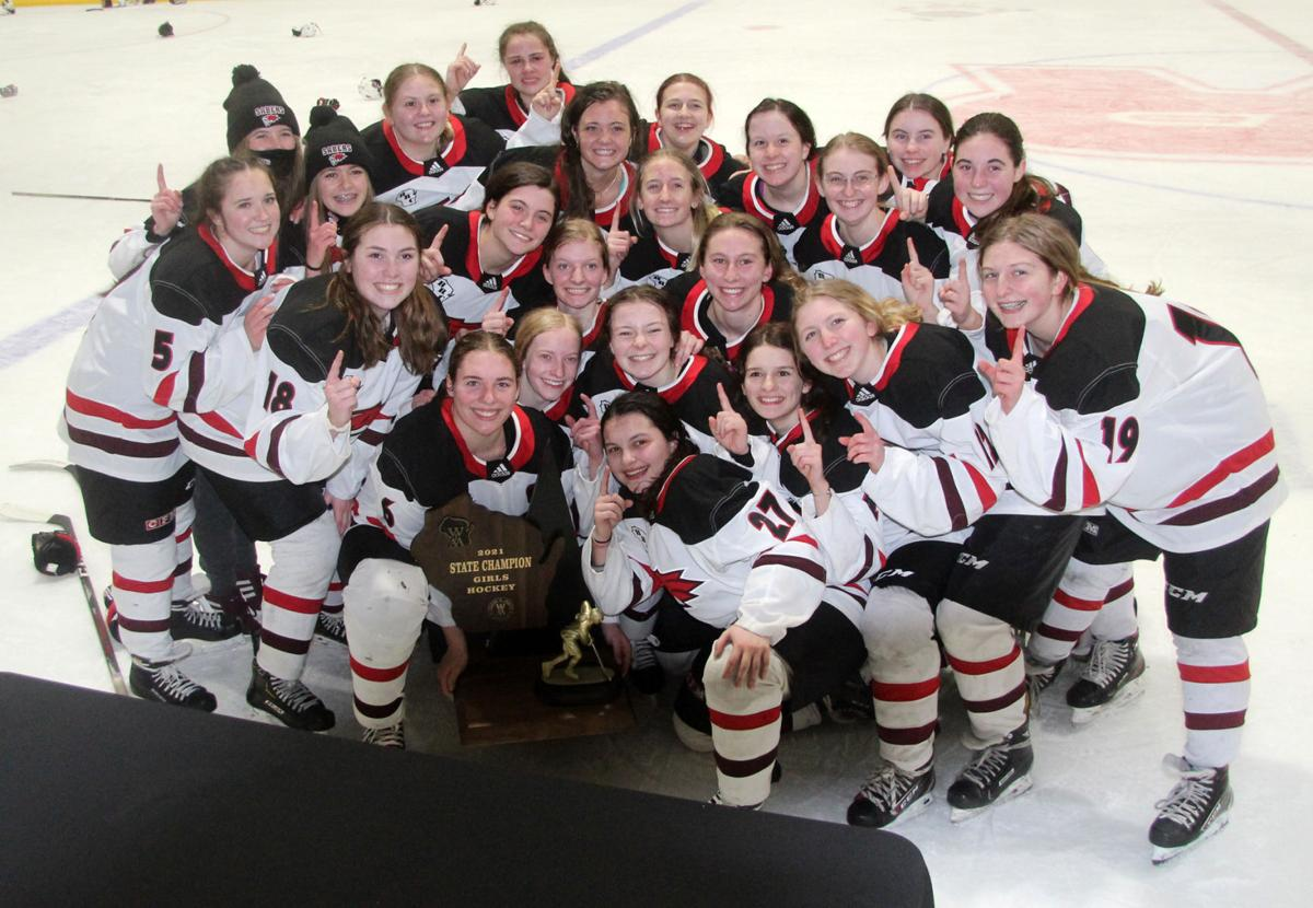Girls Hockey State Championship: Chippewa Falls/Menomonie vs University School of Milwaukee in Wisconsin Rapids 2-20-21
