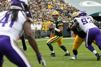 Aaron Rodgers Vikings Packers