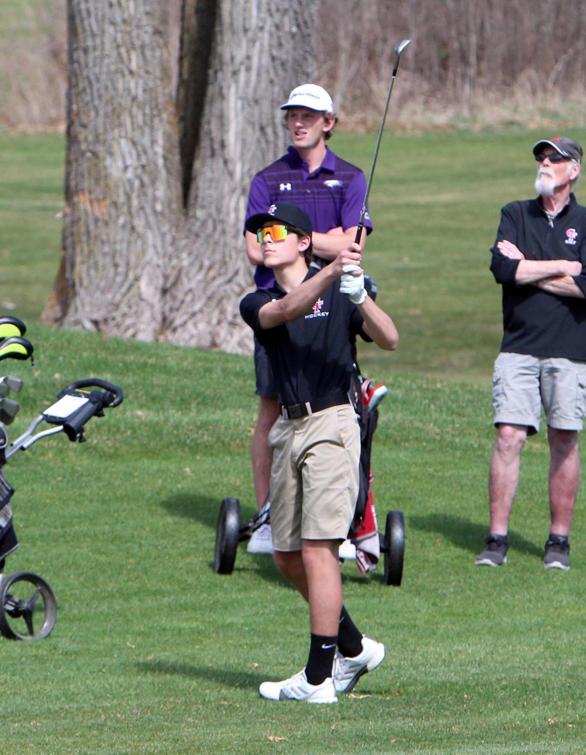 Big Rivers Conference Boys Golf Meet at Lake Wissota Golf Course 5-3-18