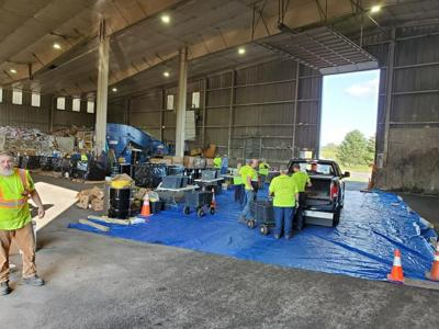 Clean Sweep Hazardous Waste Collection event