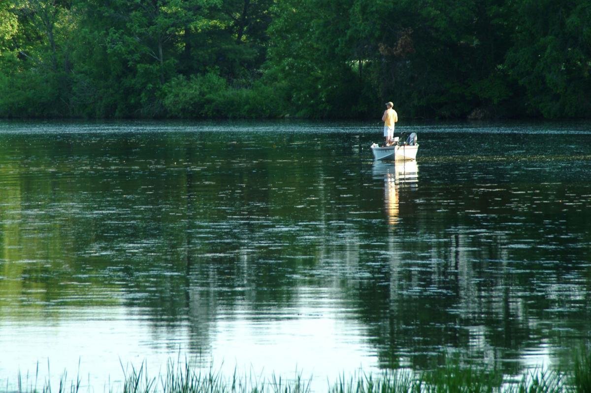 Lake Menomin fishing