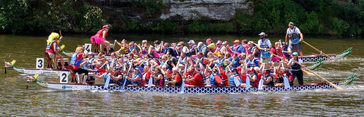 Third annual Half Moon Dragon Boat Festival
