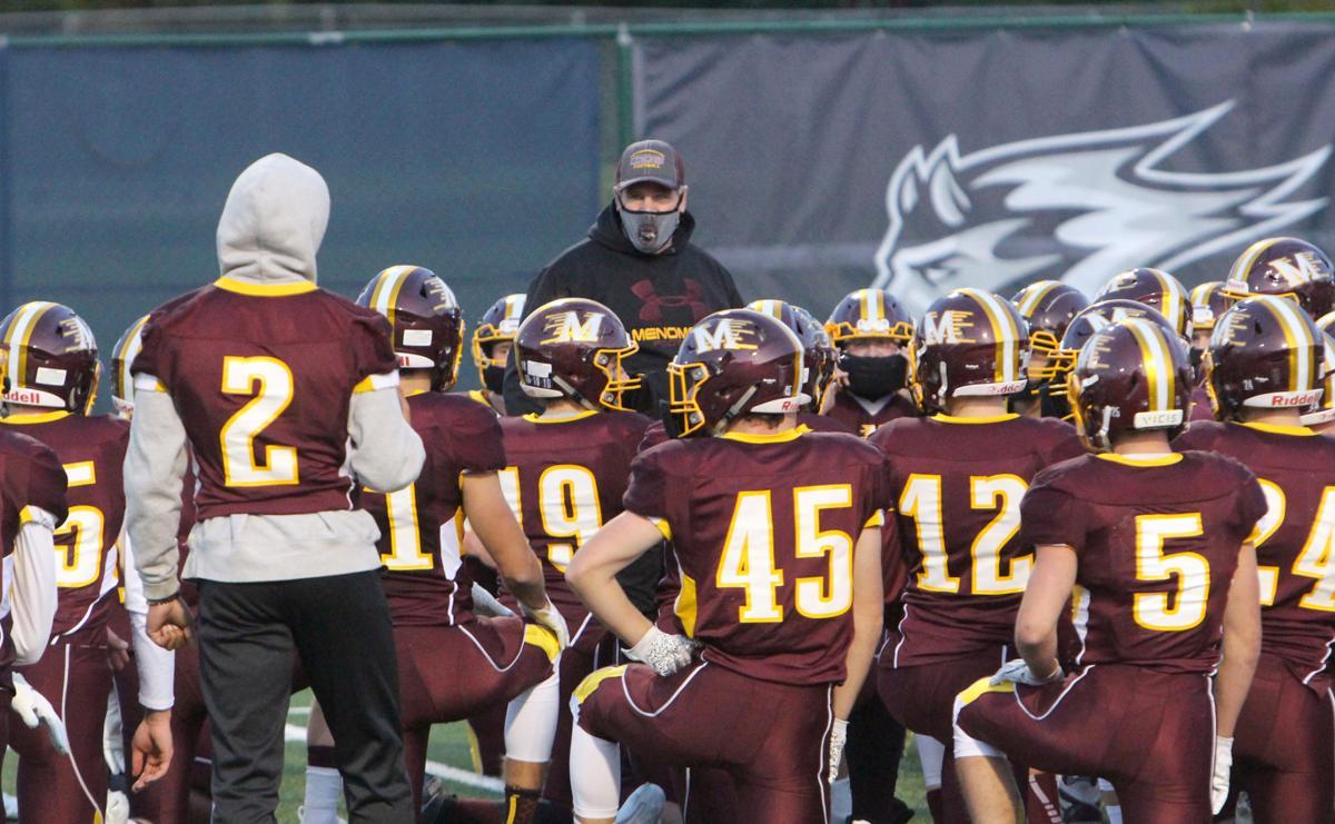 New Richmond at Menomonie football 10-2-20