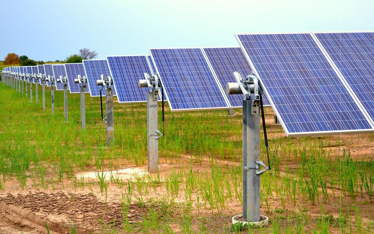 Hallie solar farm hopes for sunny days local for Solar ranch