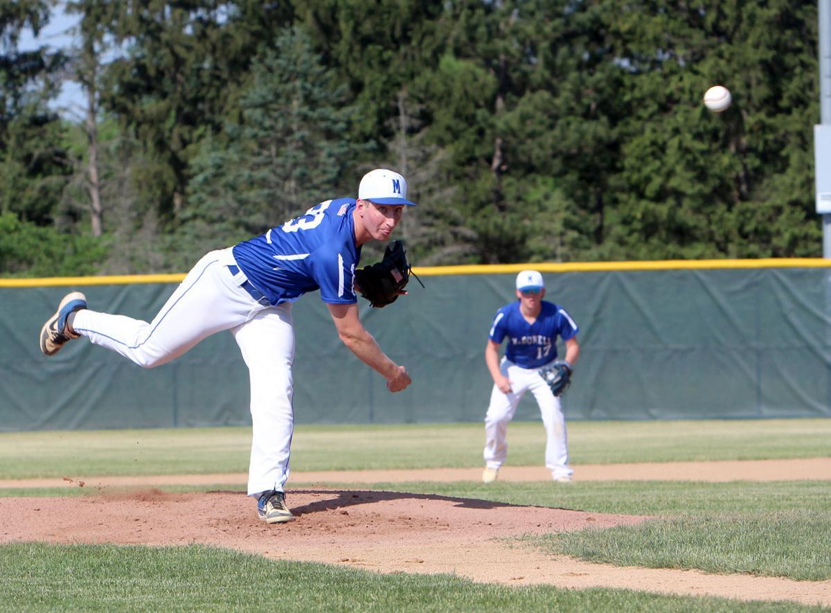 Prairie Farm at McDonell baseball 6-10-21