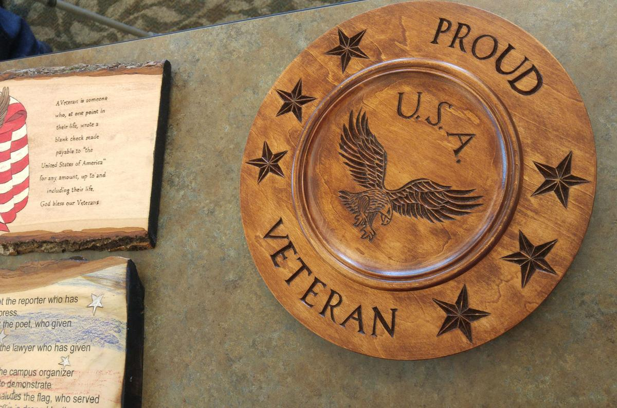 Wood carvers plaques