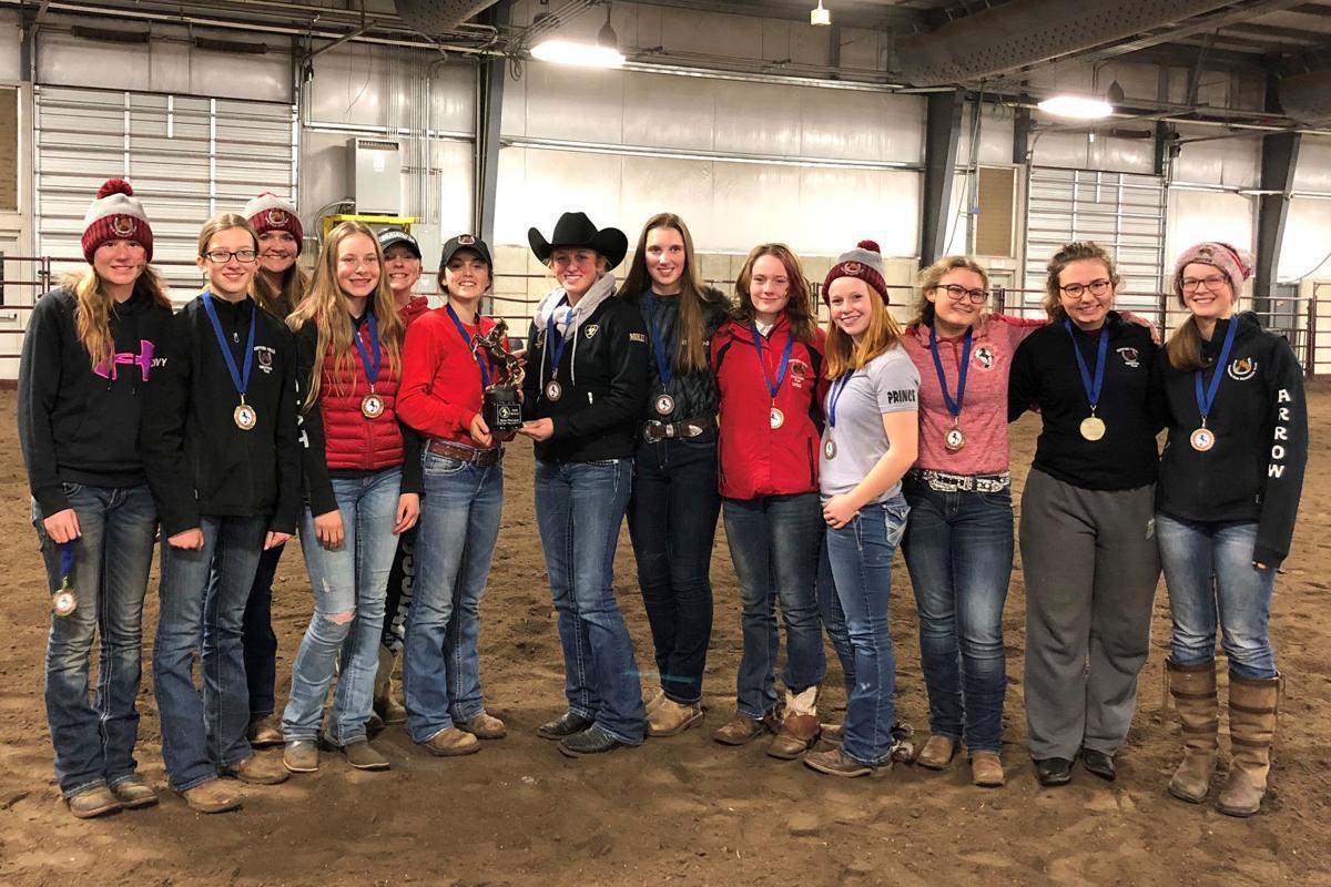 2018 Chi-Hi equestrian team