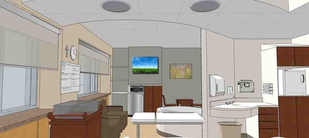 HSHS Sacred Heart announces major renovation to Women and Infants