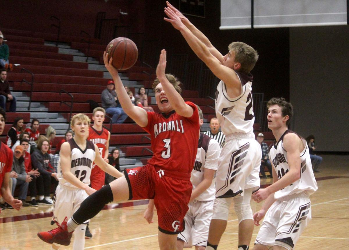 Chi-Hi boys basketball at Menomonie 12-1-17