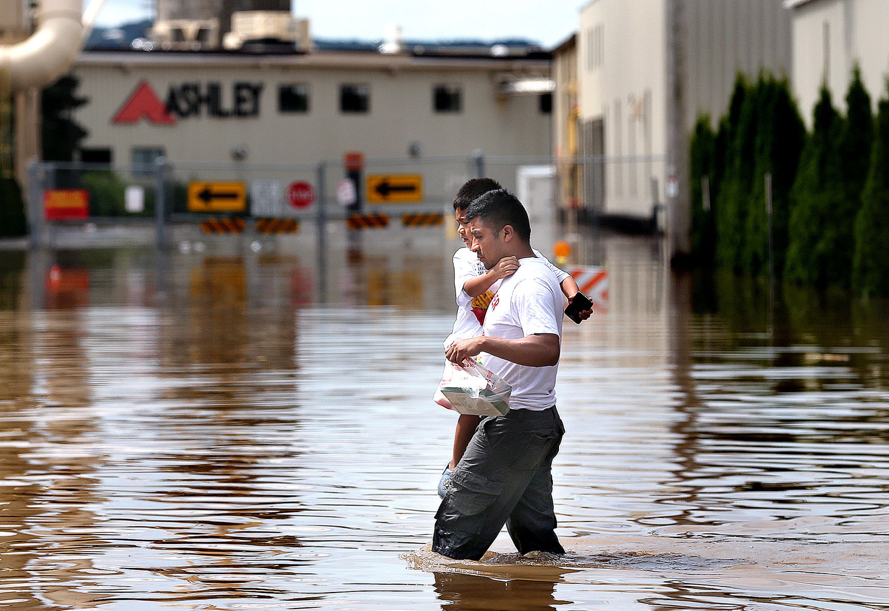 Arcadia Flood Flash floods soak La Crosse