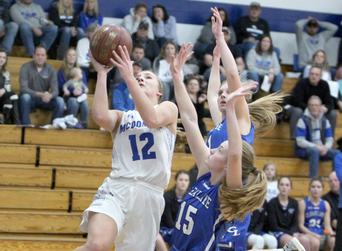 Clear Lake at McDonell girls basketball 12-9-19