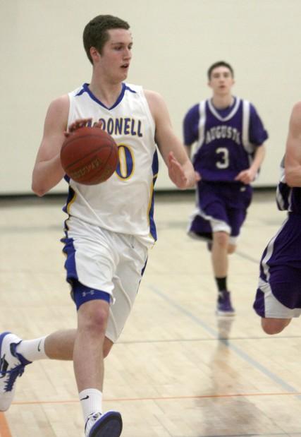 McDonell Boys Basketball vs. Augusta 2-25-12