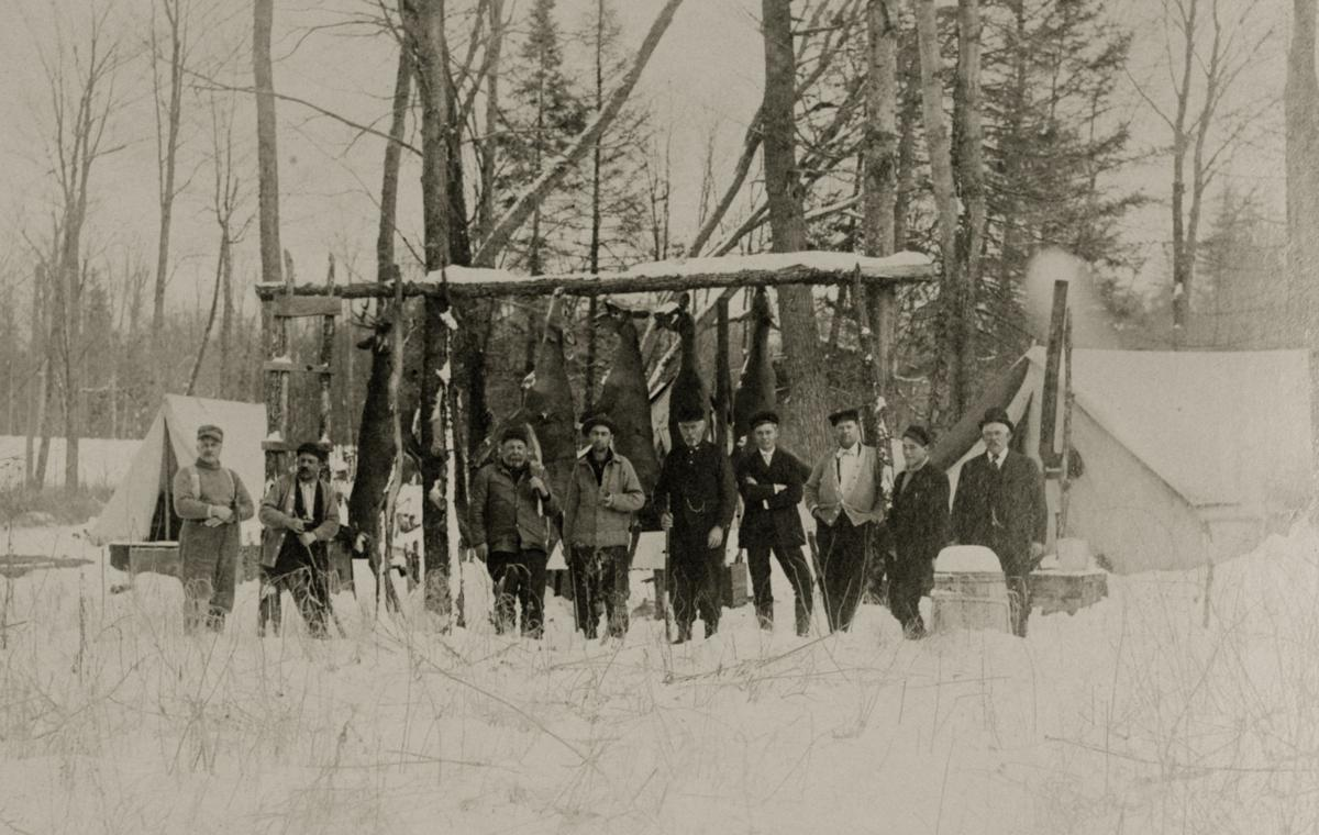 Charles Ermatinger's hunting camp 1909