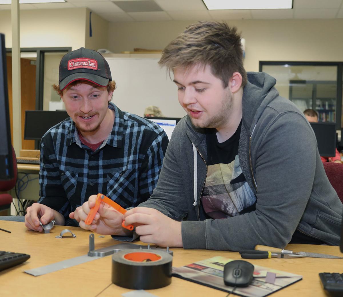 Mechanical design students