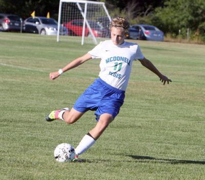 McDonell/Regis Boys Soccer vs. Stevens Point Pacelli 9-16-13