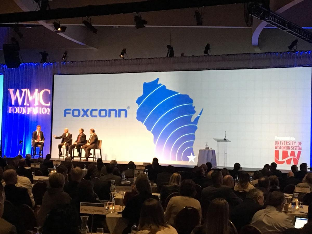 Foxconn won $3 billion tax credit battle, but the public relations campaign continues