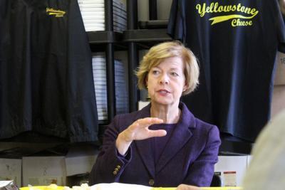 Senator Tammy Baldwin visits Yellowstone Cheese in Cadott