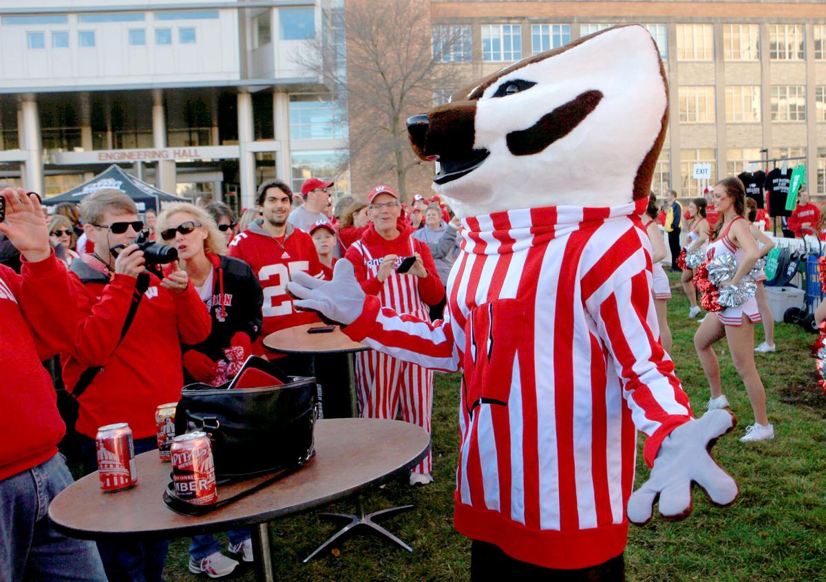 Badgerville pre-game tailgate