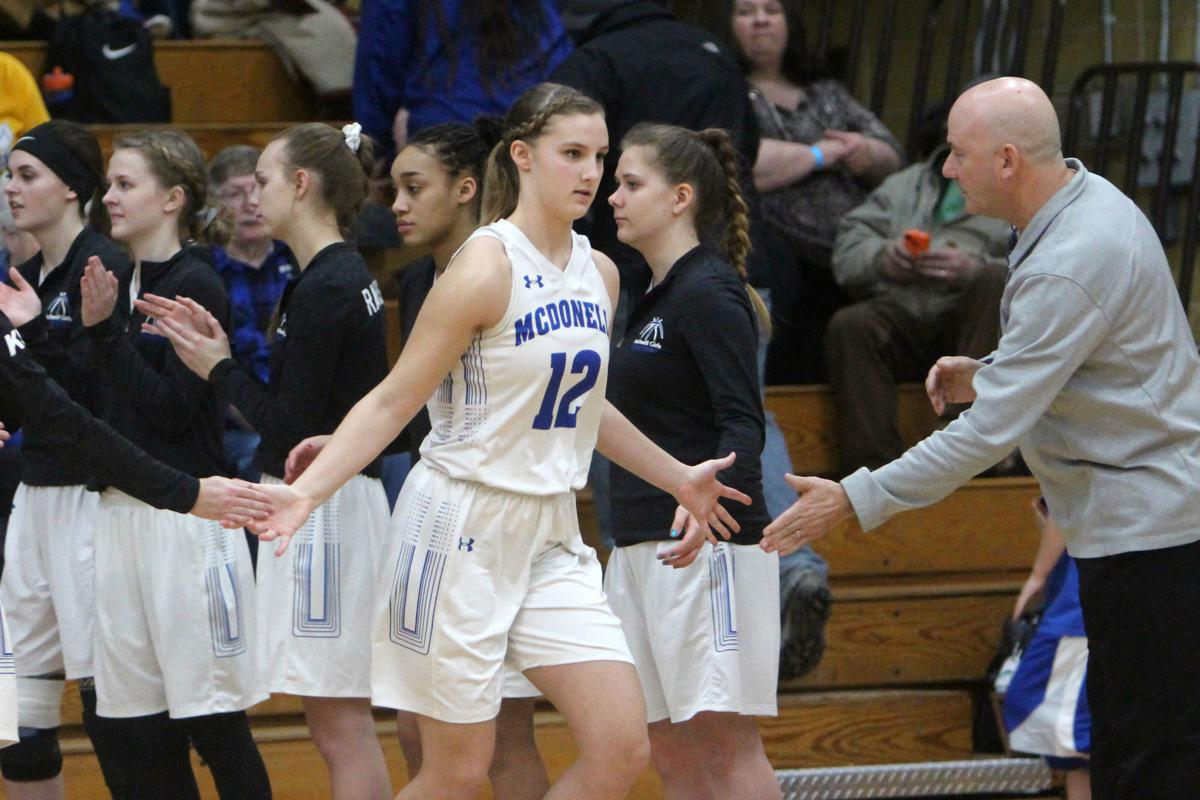 Eau Claire Immanuel at McDonell girls basketball 2-19-19