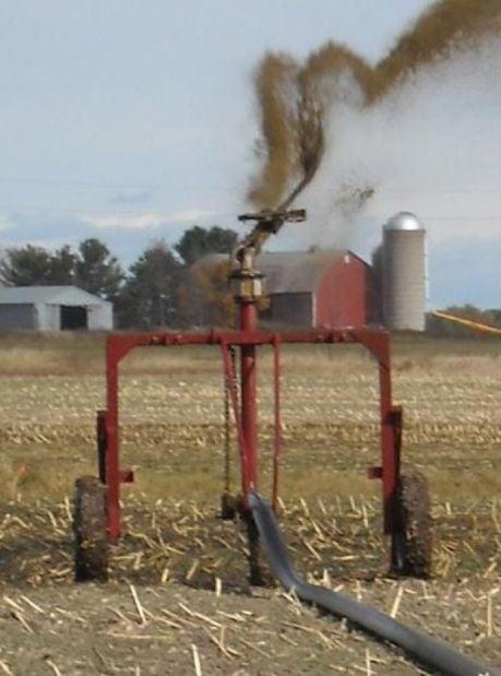 Manure irrigation 1