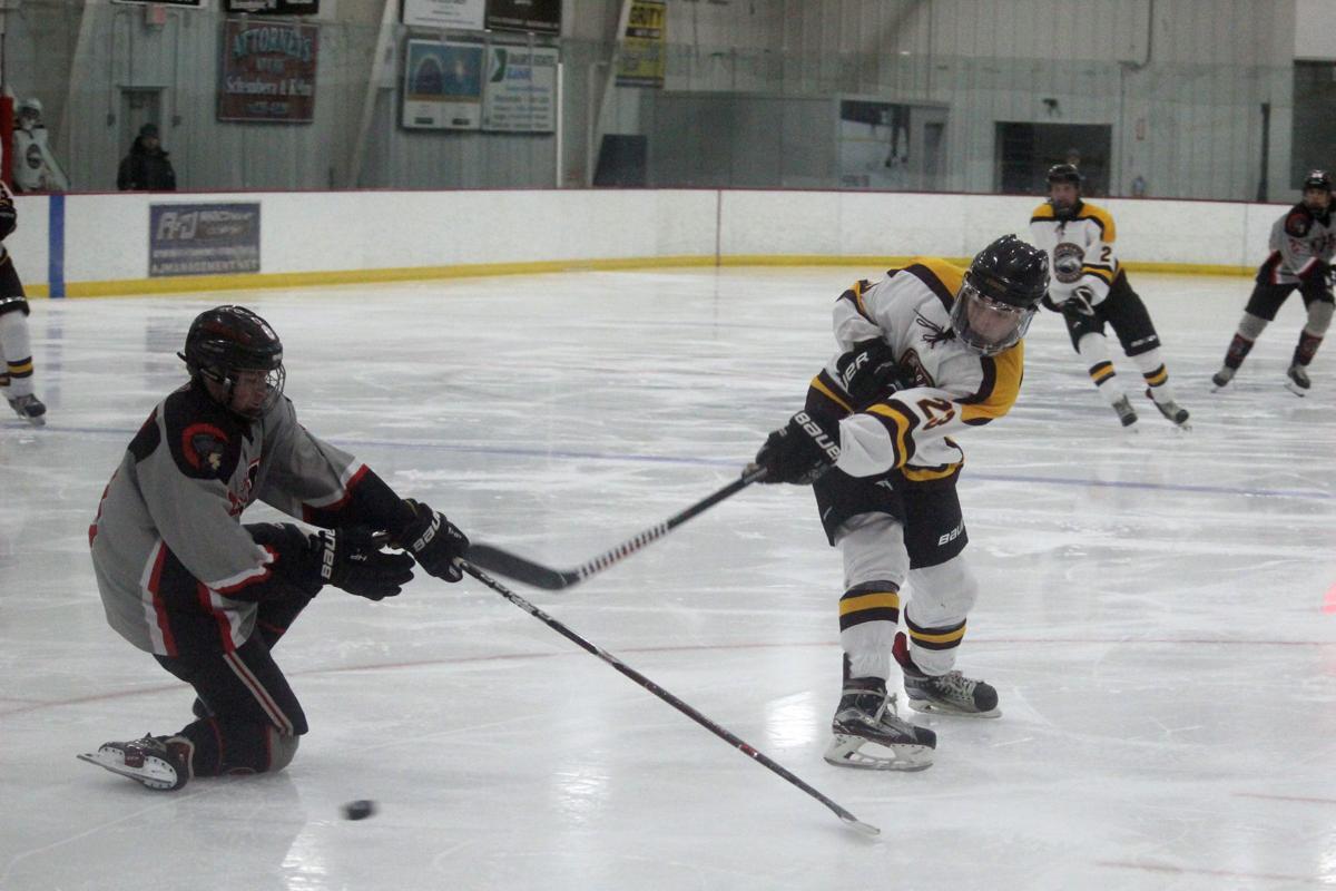 Somerset at Menomonie boys hockey 12-14-19