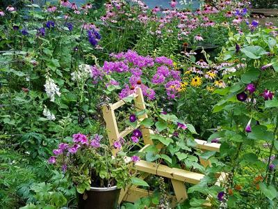 Garden of Vicky and Scott Sinz Dunn County