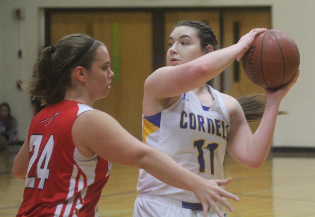 Greenwood at Cornell girls basketball 1-2-18