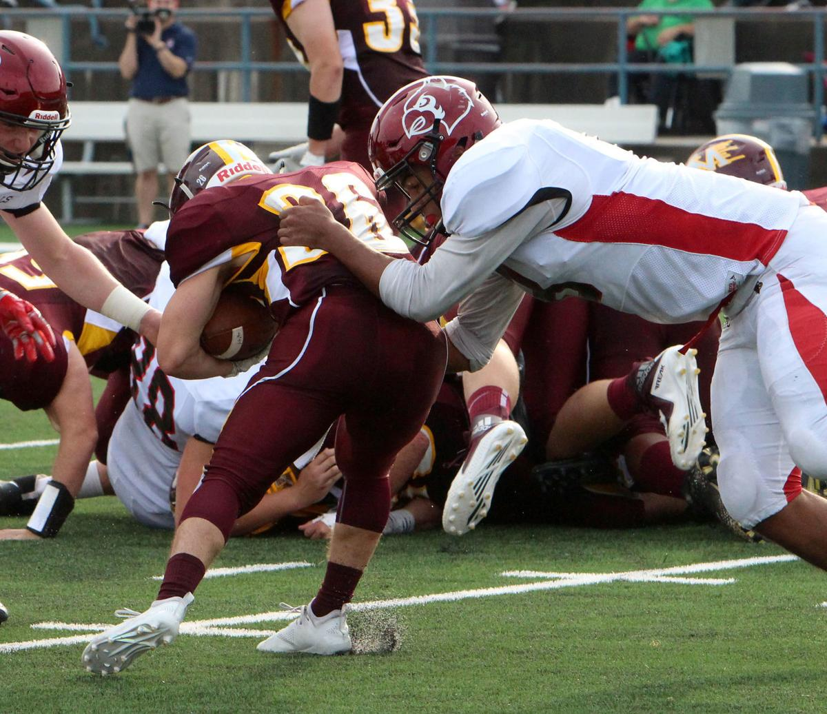 Chi-Hi football at Menomonie 8-31-18