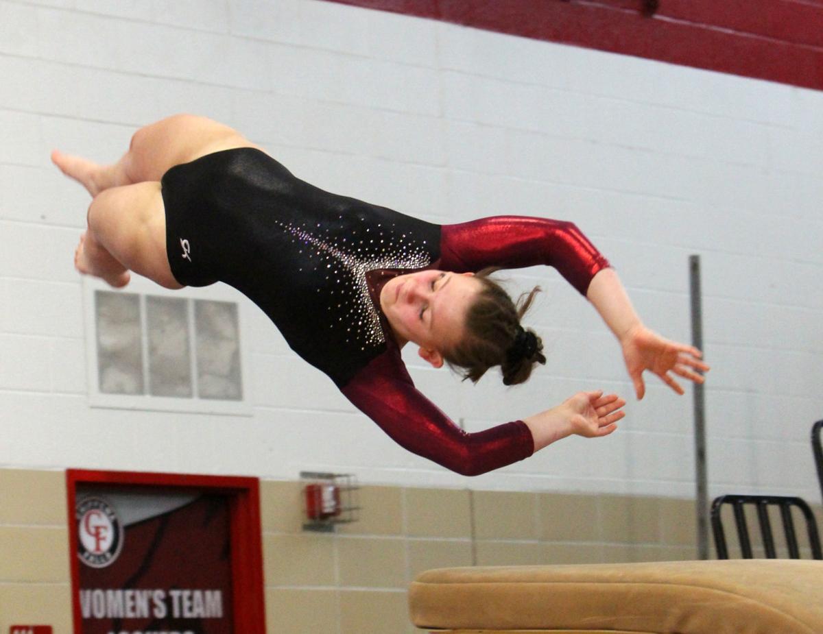 Big Rivers Conference Gymnastics Meet at Chippewa Falls 2-16-19