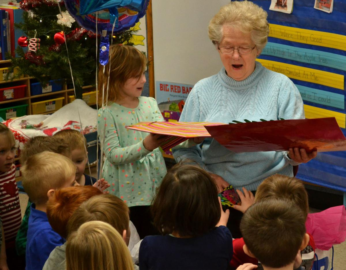 'Grandma Barb' delights Holcombe students throughout the years