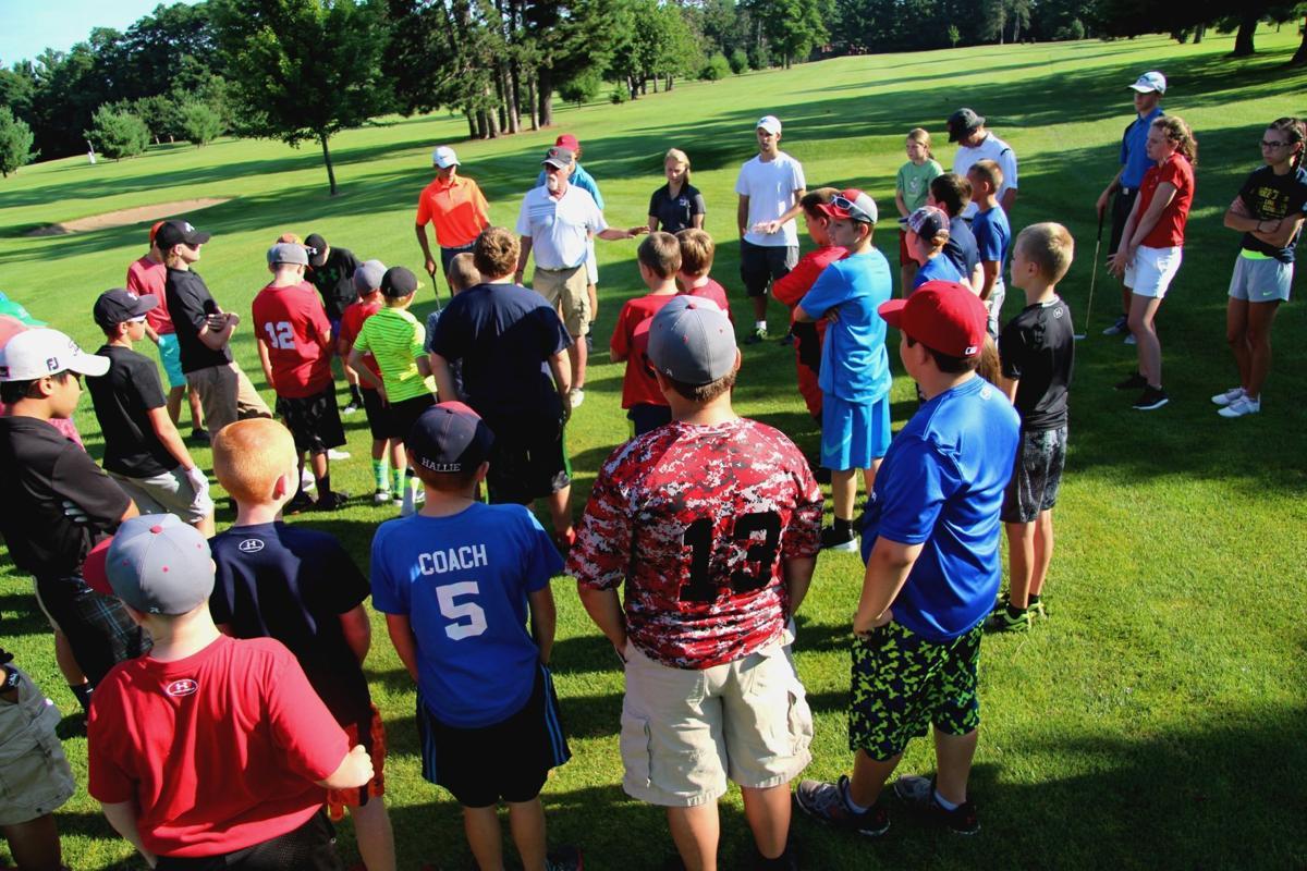 Ojibwa Golf and Bowl youth golf, 7-26-16