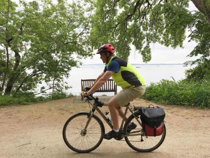 Solar Panel biking