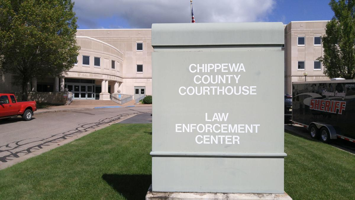 Chippewa County Courthouse exterior July 2017