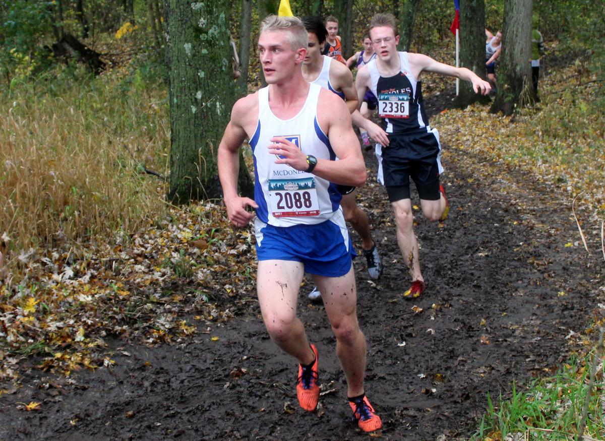 Division 3 Cross Country Sectionals at Boyceville 10-21-17