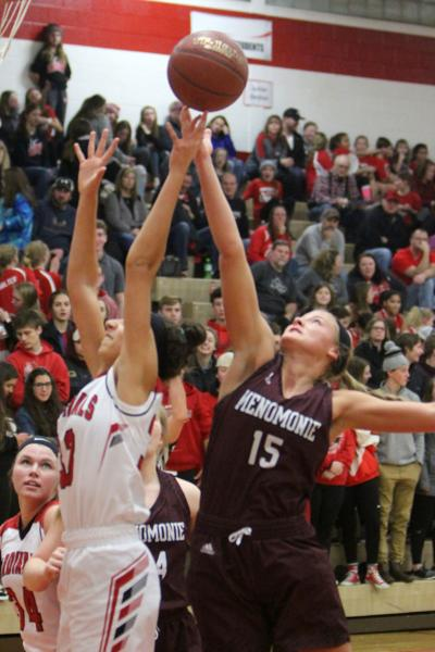 Menomonie at Chi-Hi girls basketball 12-8-18