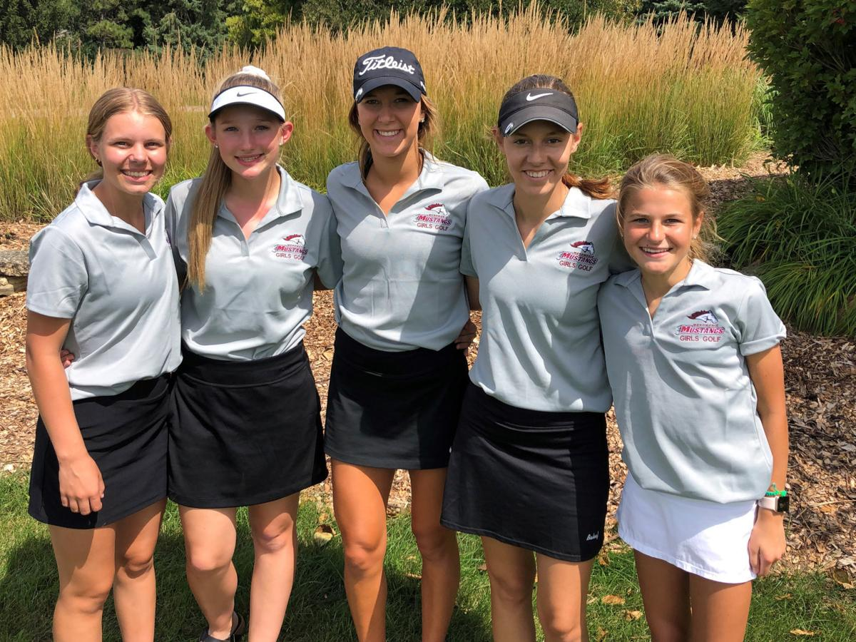 2019 Menomonie girls golf team