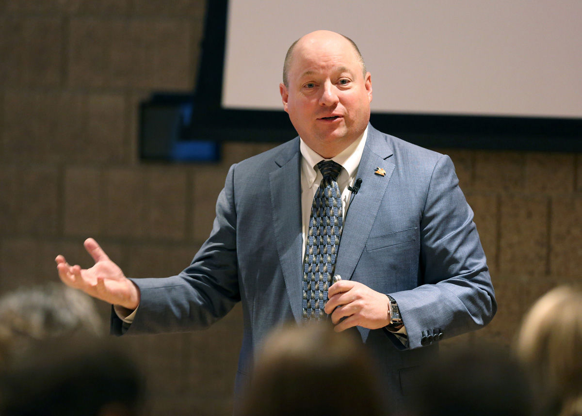 Alumnus Todd Wanek, President And CEO Of Ashley Furniture Industries Inc.,  Delivers His Cabot Executive In Residence Presentation Thursday, Oct. 26,  ...