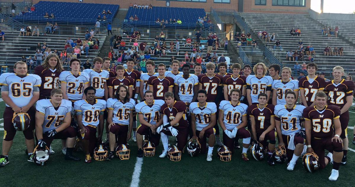 2017 Menomonie Mustang football seniors