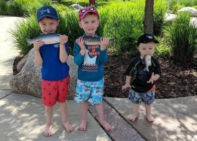 Eau Claire family's fish photo goes viral
