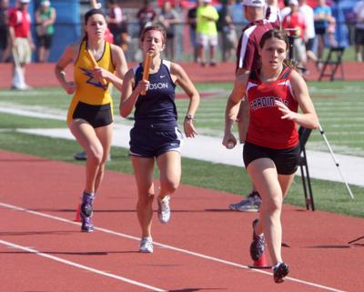 WIAA State Track and Field Meet Division 1 session 6-6-14