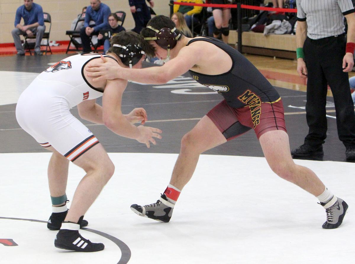 Division 1 wrestling regional at Chippewa Falls 2-9-19