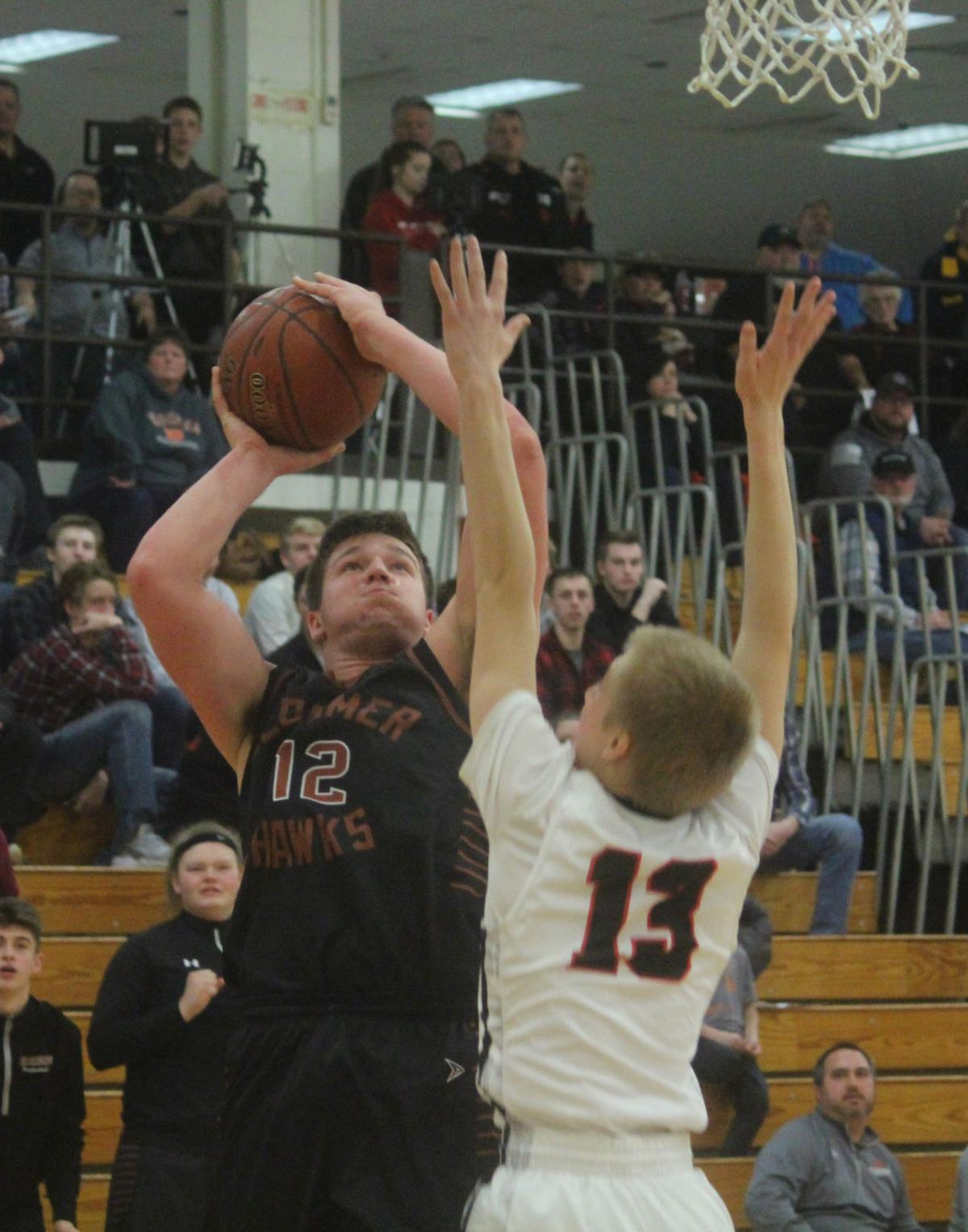 Bloomer boys basketball at Altoona 12-29-17