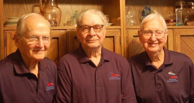 Freedom Honor Flight trio