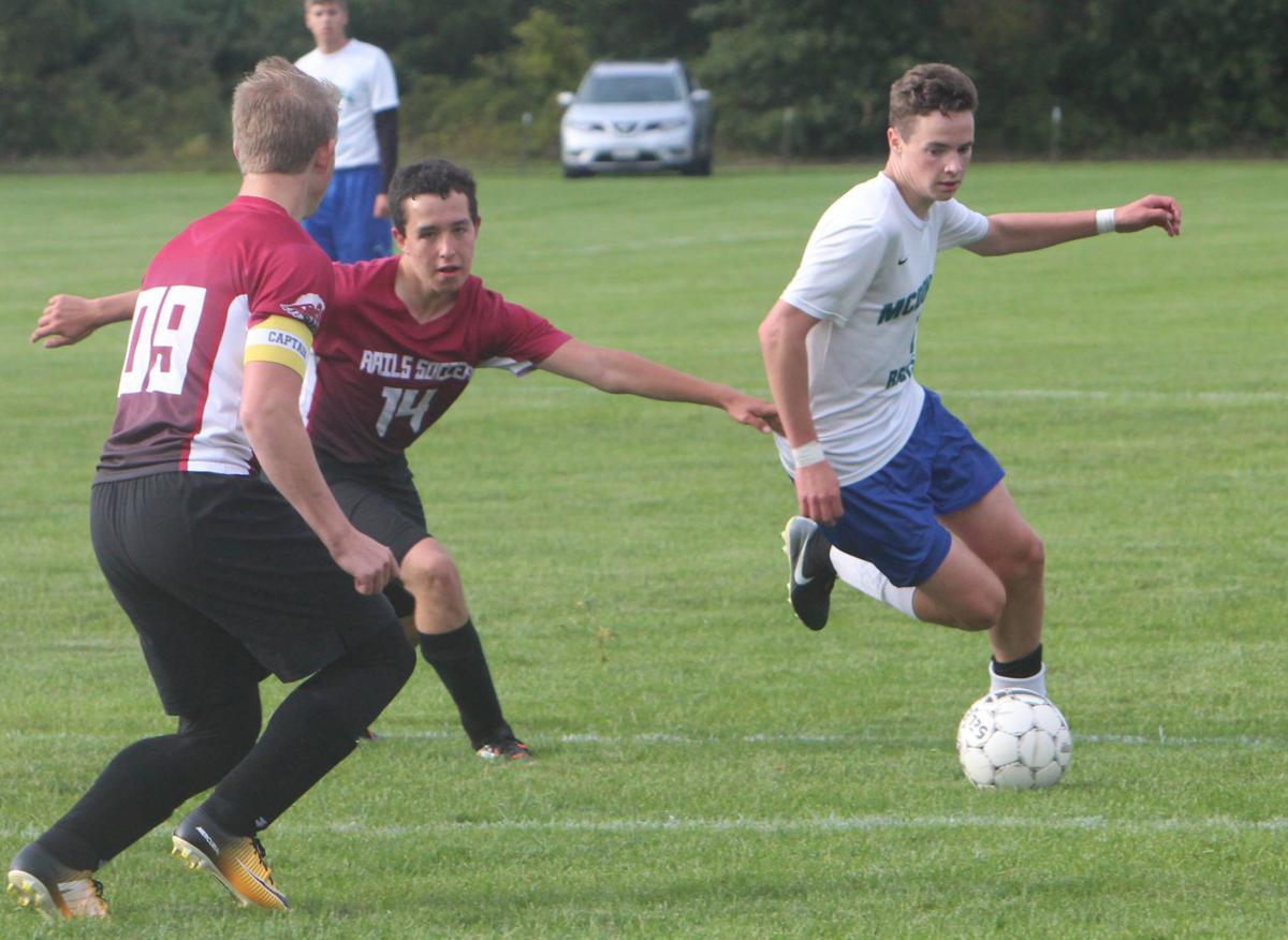 McDonell/Regis vs Spooner boys soccer 9-5-17