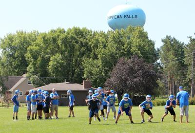 McDonell First Day of Football Practice 8-6-19